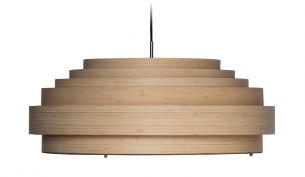 Ay Illuminate Thin Wood Pendant Lamp