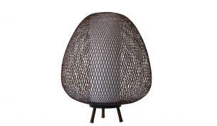 Ay Illuminate Twiggy Egg floor lamp | brown