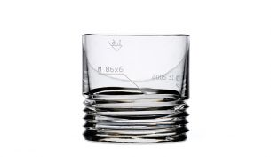 Bomma Engineering M80x6 Whisky Glass Set of 2