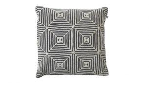 Chhatwal & Jonsson Kulgam Cushion | Creme / Grey