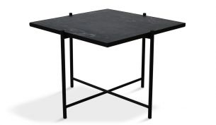Handvärk Coffee Table 60 Black Black
