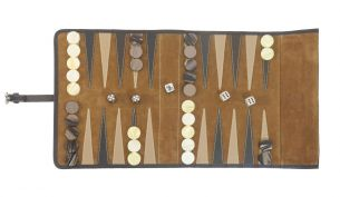 Hector Saxe Victor Backgammon Spiel | Reise-Edition