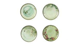 Ibride Yuan Plate Set | Grey