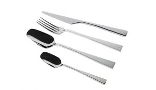 knIndustrie Zest Cutlery Set of 4 Polished