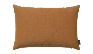 Louise Roe Diamond Remix Cushion | Brass Brown