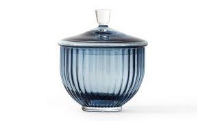 Lyngby Porcelain Glas Bonbonniere