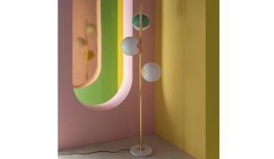 Magic Circus Éditions Pop-Up Floor Lamp | Brass