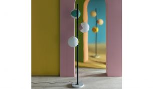 Magic Circus Éditions Pop-Up Floor Lamp | Slate Grey