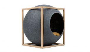 meyou the cube katzenhöhle dark grey