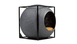 Meyou The Cube Pet Nest / Bed | Metal | Dark Grey