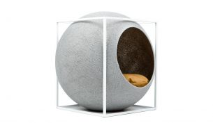 Meyou The Cube Pet Nest / Bed | Metal | Light Grey