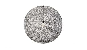 Moooi Random Light black suspension lamp