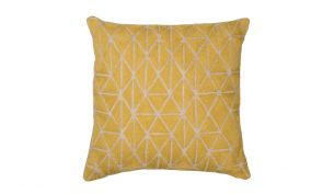 Niki Jones Berber Cushion | Chartreuse