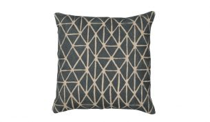 Niki Jones Berber Cushion | Slate