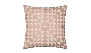 Niki Jones Geocentric Kissen | Dusky Pink
