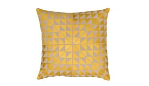 Niki Jones Geocentric Kissen | Gold