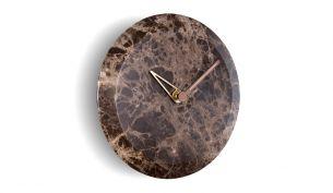 Nomon Bari Wall Clock | Emperador Marble