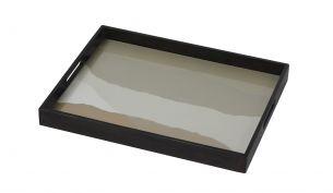 Notre Monde Sand Wabi Sabi Tablett | Rechteckig | S
