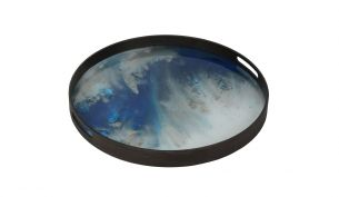 Notre Monde Blue Mist Organic Tray | S