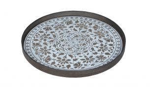 Notre Monde Marrakesh Tray | White | L
