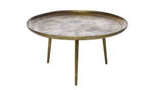 Pols Potten Antique Brass Coffee Table