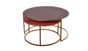 Pols Potten Enamel Coffee Table | Set of 2