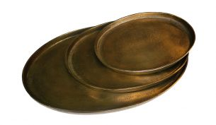 Pols Potten Oval Platter Tray | Set of 3