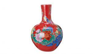 pols potten |Vase blossom blue L