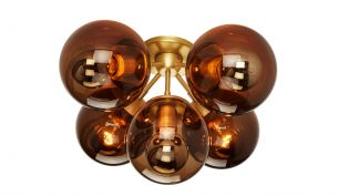 Roll & Hill Modo 5-Globes Ceiling Lamp