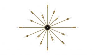 Rubn Astoria 16 Ceiling Light