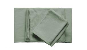 Shuj Bamboo Bed Linen Set | Salvia - V06
