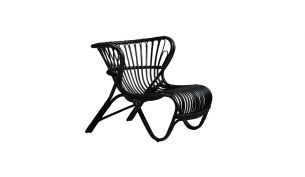 Sika Design Fox Chair Black