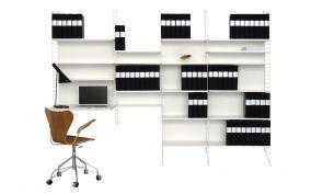 String Shelf 200 x 78 x 30 cm
