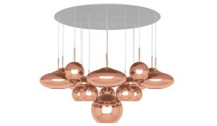 Tom Dixon Copper Trio Round