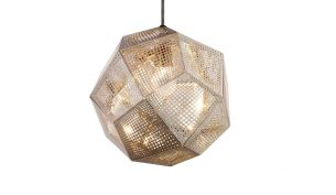 Tom Dixon Etch Stainless Steel pendant light