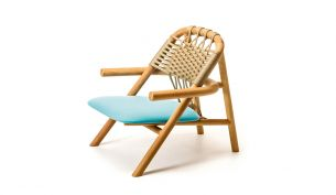 Very Wood Unam Out Lounge Chair