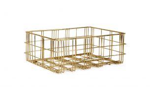 XLBoom Harri Basket Brass | Small