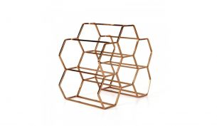 XLBoom Pico Wine Rack Copper | for 6 Bottles