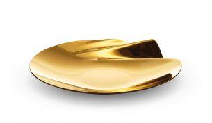 Zaha Hadid Design Serenity Bowl | Gold