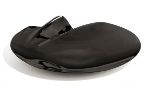 Zaha Hadid Design Serenity Platter Schale Schwarz | Ø40 cm