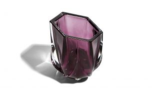 Zaha Hadid Design Shimmer Tealight Holder | Purple