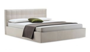 Zanotta Box Leather Bed