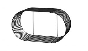 AYTM Curva Hängeregal | Groß - schwarz