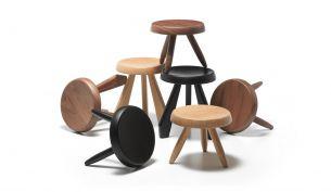 Cassina 523 Tabouret Meribel stool