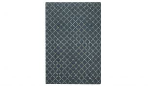 Chhatwal & Jonsson New Geometric Rug Blue Melange / Off White