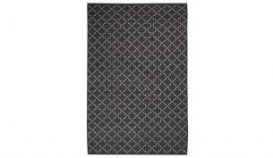 Chhatwal & Jonsson New Geometric Teppich Dark Grey / Off White