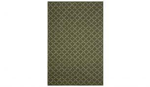 Chhatwal & Jonsson New Geometric Teppich Green Melange