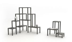 Frederik Roijé Long Legs Bookcase LL 62.00 and LL 63.00