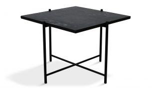 Handvärk Coffee Table 60 Black Black
