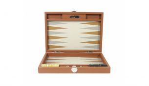 Hector Saxe Backgammon Buffalo Noir